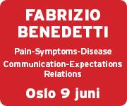 Fabrizio Bnedetti Oslo 9 Juni
